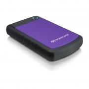 Hard disk extern Transcend StoreJet 25H3P 3TB 2.5 inch USB 3.0 Purple