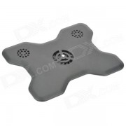 Creative USB Powered Cooling Pad w/ 2-CH Mini Speaker for Laptops - Black