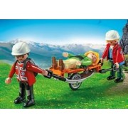 Mountain Rescuers Stretcher With