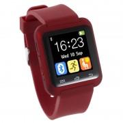 Smartwatch U80 Bluetooth Multifuncional - Vermelho