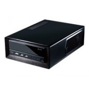 Antec ISK300-150 Black Mini-ITX Case per PC, 150 W, PSU, 2 x USB 3.0, E-SATA, 0.8 mm, Nero