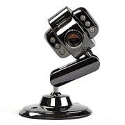 de metal usb webcam de 12 megapixel câmera HD web cam 6 levou para notebook laptop pc