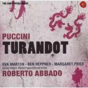 Eva Marton,Ben Heppner,Margaret Price,Munchner Rundfun orchester,Roberto Abbado - Puccini: Turandot (2CD)