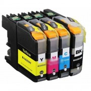 BROTHER LC 233 CYAN COMPATIBLE PRINTER INK CARTRIDGE