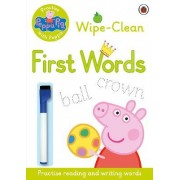 Peppa Pig: Practise with Peppa - Wipe-Clean First Words by Ladybird