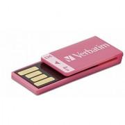 Verbatim Clip-IT 4 GB USB 2.0 Flash Drive Pink 97549