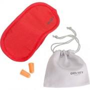 Delsey Antifaz para dormir, rojo (Rojo) - 00394003004
