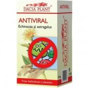 Antiviral echinacea si astragalus 60 cpr Dacia Plant