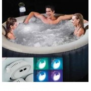 Intex RGB ledes világítás kör alakú pezsgőfürdőhöz 28503