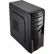Aerocool V2X - Midi-Tower Black/Orange