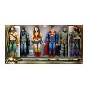 DC Batman v Superman Dawn of Justice Aquaman Batman Wonder Woman Superman Armor Batman Lex Luthor 12 Action Figure 6-Pack