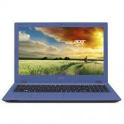 """Acer Aspire E15 E5-573-P1U3 intel-3825U (1.90 GHz) 4GB 500GB 15.6"""" FHD matný DVDRW integ.graf. Win8.1 modrá 2r"""