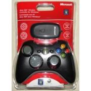 Controller Xbox 360 + PC Wireless Black