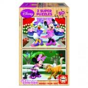 Educa Disney Minnie egér fa puzzle, 2x50 darabos