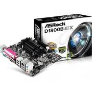 ASRock 90-MXGRF0-A0UAYZ D1800B-Itx Scheda Madre, Nero