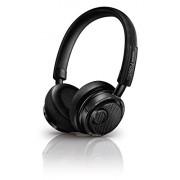 Philips M2BTBK Fidelio On-Ear Closed Back HD Wireless Bluetooth Headphone with Mic