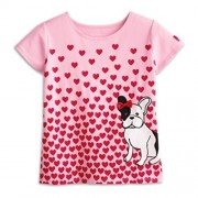 American Girl Graces Puppy Tee For Girls Size Small (7/8)