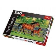 Trefl 37095 - Cavallo e puledro - Puzzle 500 pezzi