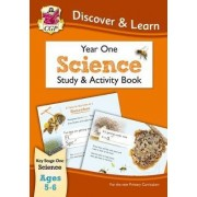 KS1 Discover & Learn: Science - Study & Activity Book, Year 1 by CGP Books