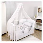Бебешки спален комплект 5 части Bianco Wool Collection Baby Matex 0223