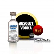 Botellita vodka Absolut