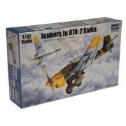Trumpeter 3214 - Modellino di aereo Junkers Ju-87B-2 Stuka, da costruire, in scala 1:32