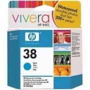 HP 38 ( C9415A ) Cyan Pigment Ink