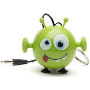 KitSound Mini Buddy Universal Speaker with 3.5mm Jack Compatible with Smartphones Tablets and MP3 Devices - Alien
