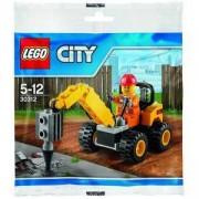 Лего Сити комплект Строители мини фигурка 40 части, LEGO City Set Minifigure 30312A