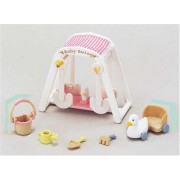 Sylvanian Families Baby & Child Room Baby Swing Set Over -208 (Japan Import)
