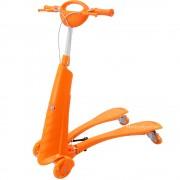 Trotineta (fliker scooter) pentru copii pe 4 roti LED