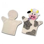 Puppets cotone, Set 24er - burattini cotone a mano per la pittura