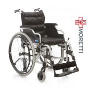 MCP710 Light 1 - Carucior transport pacienti din aluminiu, antrenare manuala - 100Kg