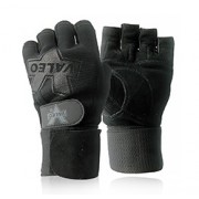 PERFORMANCE WRIST WRAP GLOVES (Black Large) 1 Pair