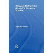Research Methods for Sports Performance Analysis by Peter O'Donoghue