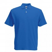 Fruit of the Loom Original Men's Polo Shirt Royal Blue S