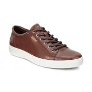 Sneakers casual barbati ECCO Soft 7 (Maro / Whisky)
