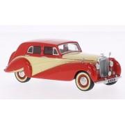 Bentley MK VI Harold Radford Countryman salón, rojo/beige claro, RHD, 1951, Modelo de Auto, modello completo, BoS-Modelos 1:43