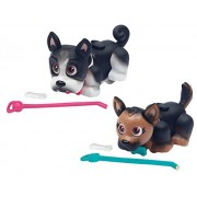 Pet Parade German Shepherd And French Bulldog Puppy Toy (Pack Of 2)