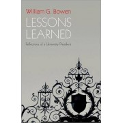 Lessons Learned by William G. Bowen