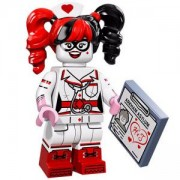 ФИЛМЪТ LEGO БАТМАН идентифицирана минифигурка - Сестра Харли Куин, LEGO Batman Movie - Nurse Harley Quinn, 71017-13