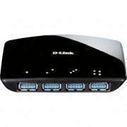 HUB USB D-LINK DUB-1340 3.0 4 PORTURI SUPER SPEED