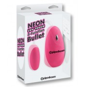 Neon Luv Touch 5 Function Bullet Pink