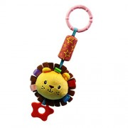 Segolike Newborn Baby Bed Bells Plush Soft Pram Stroller Hanging Bell Animal Handbells Rattles Crib Toy