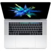 "Лаптоп MacBook Pro 15"" Silver с Touch Bar и Touch ID, 16GB памет, 512GB SSD и Core i7 2.7GHz процесор - сребрист цвят"