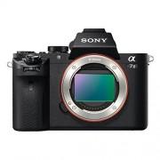 "Sony ILCE-7M2 - Cámara EVIL de 24.3 Mp (pantalla de 3"", estabilizador de 5 ejes, vídeo Full HD, WiFi y NFC) negro"