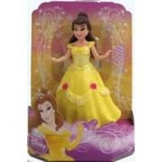 "Disneys Princess Belle Glitter Rubber 3 1/2"" Doll"