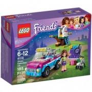 LEGO® Friends Mașina de explorări a Oliviei 41116