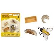 Set Ciclo della vita dell'ape Safari ltd cod. 622716