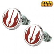 Star Wars Stainless Steel Jedi Order Stud Earrings